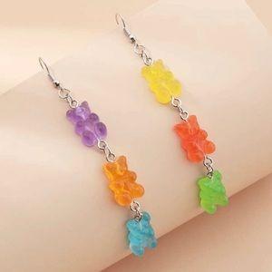 3/$30 🤍 Long Gummy Bear Earrings